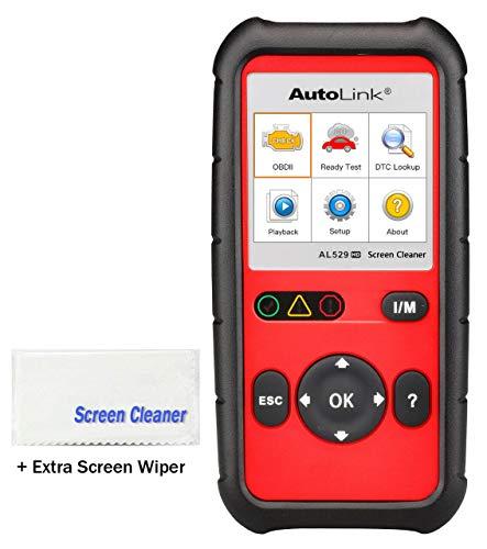 Autel AL529HD with Free Screen Wiper Heavy Duty Code Reader Diesel Truck OBD2 car Diagnostic Scan Tool(Advanced AL519/AL529 + J1939 & J1708)