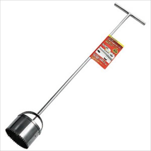 ガーデンヘルパー(GardenHelper) ステンレス ロングマルチ穴あけカッター80 HCL-80