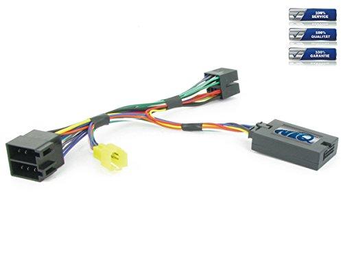 NIQ Adaptador de mando a distancia en el volante adecuado para radios de coche Sony compatible con Renault Twingo año de fabricación 2000 – 2006