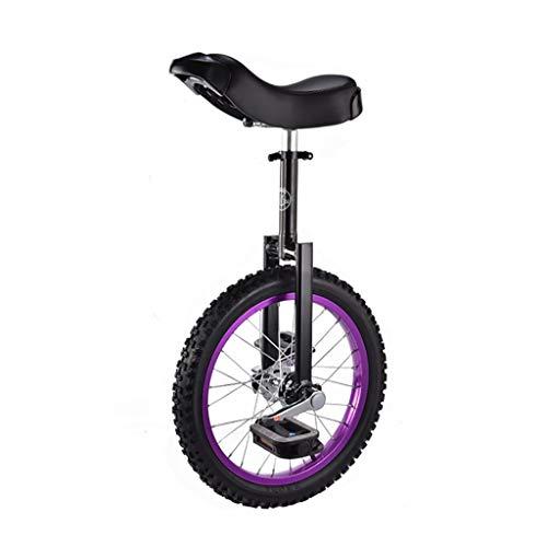 DC les Einräder Schubkarre, 16-Zoll-Kinder-Einrad für Erwachsene, Akrobatik, Fitness-Laufrad (Farbe : A)