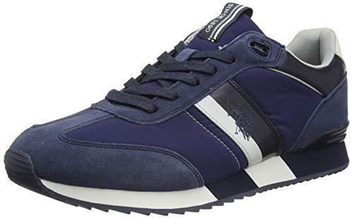 U.S. Polo Assn. Men's Austen Gymnastics Shoes, Blue Davio 013, 10.5