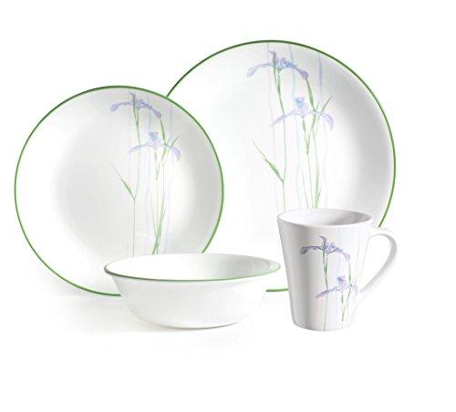 6er-Set Corelle Pastateller Winter Frost aus Vitrelle-Glas 591/ml wei/ß