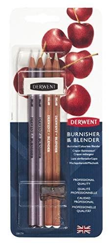 Derwent 2301774 Blisterpackung (2 Blender, 2 Wischer, 1 Anspitzer, 1 Radiergummi)