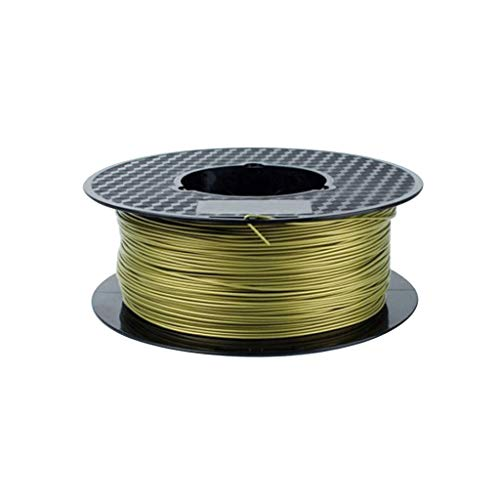 Alte Prestazioni Filamento Stampante 3D Filamento PLA Filamento PLA Metallo 1,75 mm 1 kg (4 Colori opzionali) Utilizzato per Stampante 3D e Penna Stampa 3D (Color : Bronze)