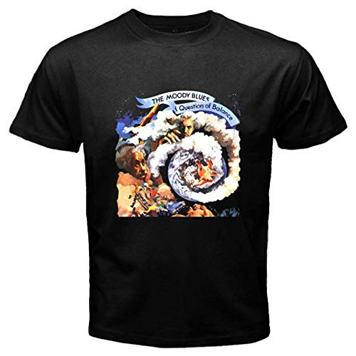New THE MOODY BLUES BAND Rock Blues Music Men's Black T-Shirt Size S to 3XL