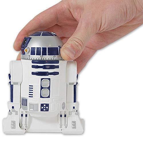 Preis am Stiel Star Wars Küchenuhr R2-D2 | Eieruhr | Kurzzeitmesser Küche | Küchentimer | Küchenwecker | Star Wars Accessoires | Alarmuhr