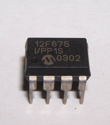PIC Mikrochip 12F675, MCU Speicherkontroller, 8-Bit, 8-pin, DIP, 1 Stück