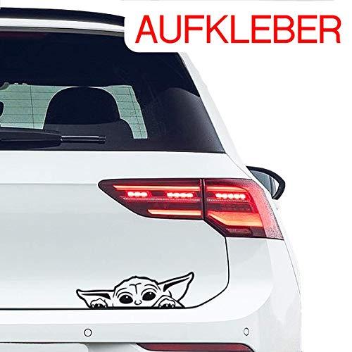 Auto Aufkleber BABY Yoda Tuning Fun Sticker Auto Tuning 21 x 6,5cm