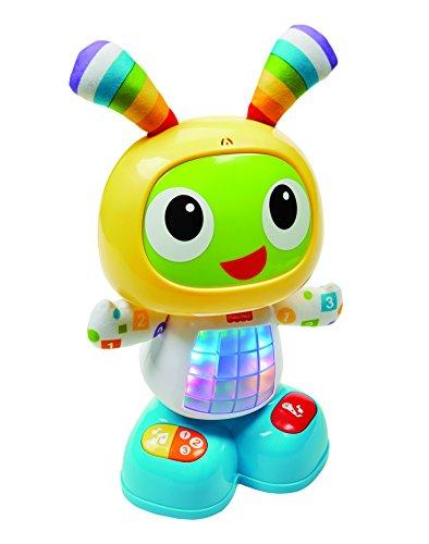 Fisher-Price Bebo le Robot interactif jouet d'éveil avec 3 modes de jeu, version italienne, pour bébé de 9 mois et plus, CGV49