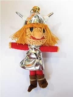 Vicky the Viking Voodoo String Doll Keychain