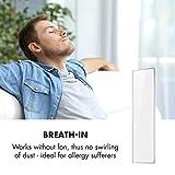 Klarstein Wonderwall Air 40 Infrarotheizung, 120 x 100 cm, 500 W, Carbon Crystal Infrared, IR ComfortHeat, ZeroNoise, OpenWindow Detection, ideal für Allergiker, Thermostat, Edition 2020, weiß