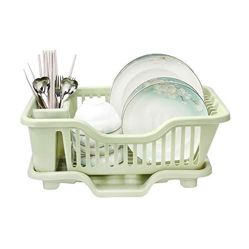 Support de vidange de cuisine, Vaisselle Vaisselle en plastique Boîte de rangement Vaisselle Évier Panier à égouttoir Plateau de rangement au sol Boîte de rangement multifonctions
