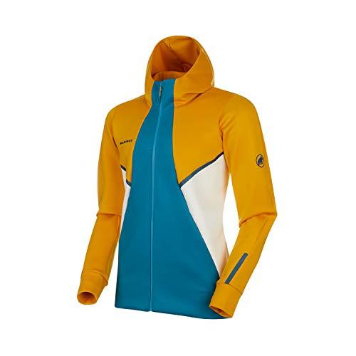 Mammut Herren Midlayer-Jacke mit Kapuze Avers Hooded, gelb, M