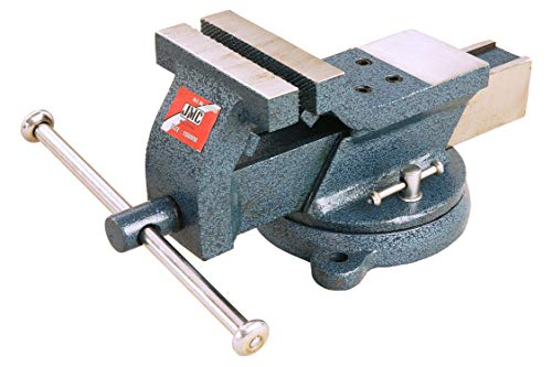 Pro-Lift-gereedschappen draaibare parallelle bankschroef met aambeeldje, voor werkbank, 100 mm