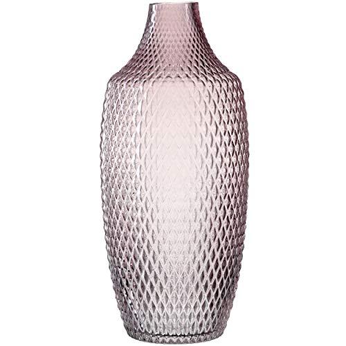 LEONARDO HOME 018677 POESIA Vase 40 cm viola, Glas