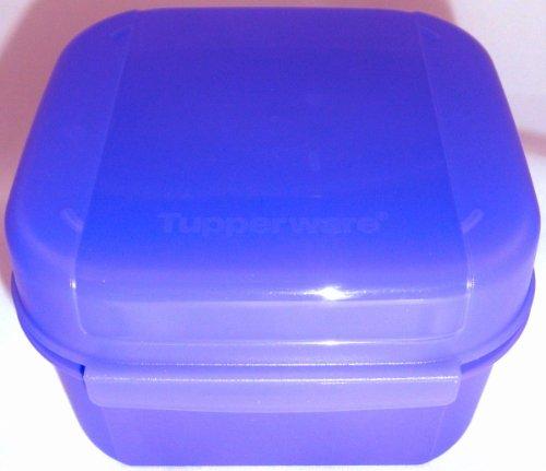 1a TUPPER A166 Schulbrotdose BELLEVUE 450ml --- lila blau