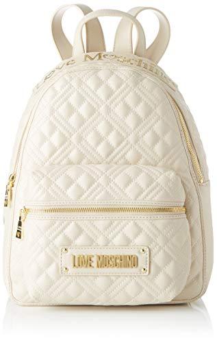 Love Moschino Damen Jc4204pp0a Rucksack, Elfenbein (Ivory), 13x33x27 Centimeters (W x H x L)