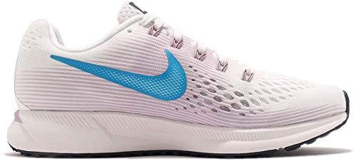 Nike Damen Air Zoom Pegasus 34 Laufschuhe, Mehrfarbig (Summit White/Equator 105), 40 EU