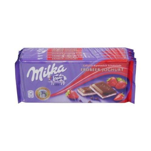 Kraft Foods: Milka - Erdbeer-Joghurt - 1 Tafel à 500 gr