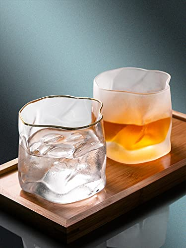 HRYMLGG Copas para beber Copa de vino Vaso de vidrio de whisky Vaso de cerveza Copa de vidrio transparente Copa de agua Copas de cóctel D