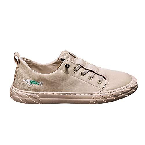 BestSiller Zapatos deportivos de seda de hielo, zapatillas de lona, zapatos casuales transpirables de secado rápido para hombres
