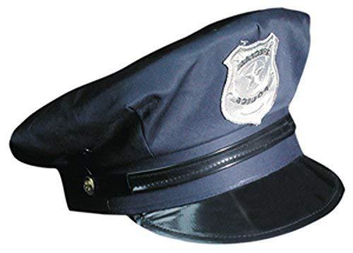 Marco Porta Gorra de Policía Ajustable Policía Sombrero