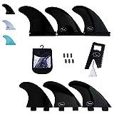 Ho Stevie! Fiberglass Reinforced Polymer Surfboard Fins - Thruster (3 Fins) FCS...