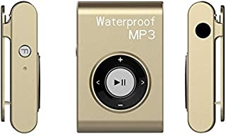 WZY IPX8 Waterproof Swimming Diving Sports MP3 Music Player with Clip & Earphone, Support FM, Memory:4GB(White) (Color : G...