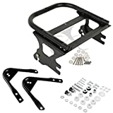 XFMT Detachable Two Up Tour Pack Pak Luggage Rack W/Docking Kit For 97-08 Harley Touring