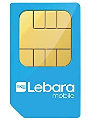 UK SIM card giving you both national and international minutes, texts and mobile Internet Stay connected with friends and family in the UK and abroad Free Lebara to Lebara UK calls and texts Pre-Loaded with 5 Pounds Credit