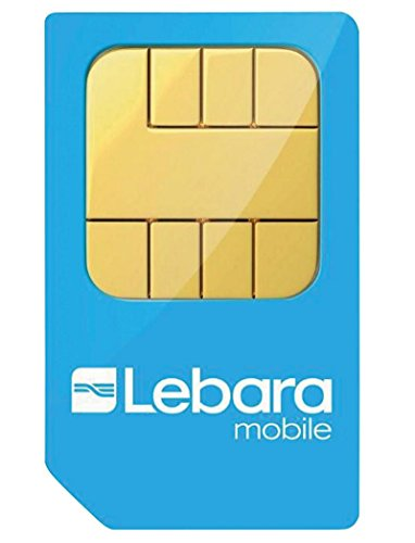 Lebara Tarjeta Nano Sim Precargada Pay As You Go - N/A, Combi SIM