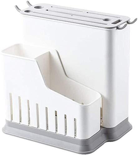 Knife Block Multifuncional accesorios de cocina soporte hueco de plástico para guardar cuchillos (color: doble)