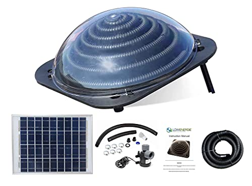 Lowenergie Solar Thermal Pool Heater Dome, Water...