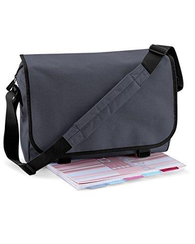 BAGBASE MESSENGER BAG (GRAPHITE GREY)