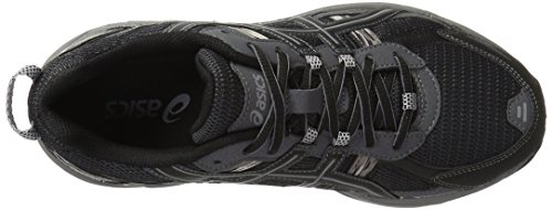 ASICS Men's Gel-Venture 5-M, Black/Onyx/Charcoal, 12 M US