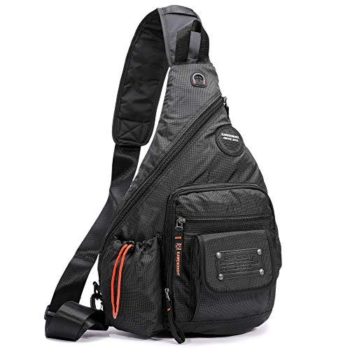 Sling Bags Large Sling Backpack Chest Shoulder Crossbody Daypacks for Men Women