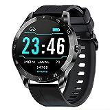 Gretel X1 Smartwatch, Reloj Inteligente con Pulsómetro - Monitor de Sueño, Cronómetros, Notificación Inteligente, Pantalla de 1.3' TFT-LCD, Pulsera Actividad Inteligente Compatibles con Android y iOS