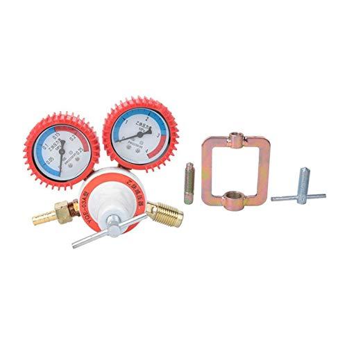 LXH-SH Das elektromagnetische Ventil Sauerstoff-Acetylen-Manometer Druckminderer Minderer for Schweißen Elektronische Druckminderer Industriebedarf (Specification : Acetylene)