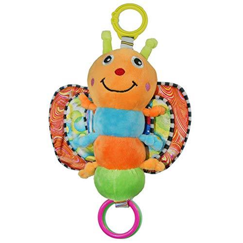 Baby Cot Bed Rings,6 Pack Kwekerij Bedden Cradle Clips Verwijderbare Parken Ringen om te helpen Baby's Get Up Praktijk Stand Rood Groen Geel Vlinder