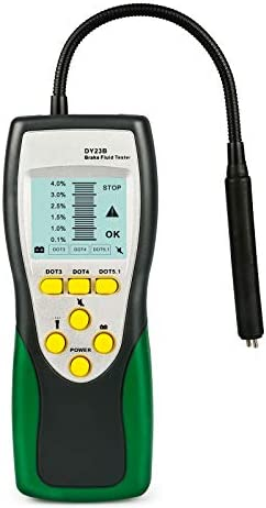 BELEY Automotive Brake Fluid Tester Oil Moisture Water Detection with High-Precision Probe for Auto DOT3 DOT4 DOT5.1 Brake Fluid Diagnostic Detector