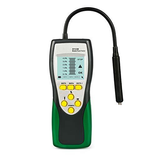 """Automotive Motorrad Bremsflüssigkeitstester Feuchtigkeit Wasser Erkennung mit 2,2""""LCD für Fahrzeug DOT3 DOT4 DOT5 Bremsflüssigkeitsdetektor"""