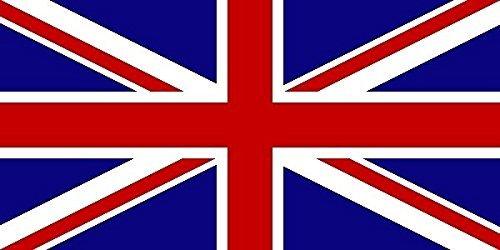 U24 Aufkleber Grossbritannien Flagge Fahne 8 x 5 cm Autoaufkleber Sticker
