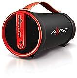 Axess SPBT1033 Portable Bluetooth Indoor/Outdoor 2.1 Hi-Fi...
