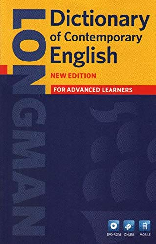 Longman dictionary of contemporary English. Con CD-ROM. Con DVD-ROM: For Advanced learners