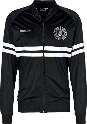 Unfair Athletics Herren Zipper DMWU Tracktop Black White, Größe:S