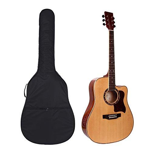 Custodia per chitarra da 104 cm, design a zaino, per chitarra acustica e classica