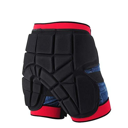 Unisex La seguridad del protector al aire libre Deportes caderas Piernas armadura protectora Pantalones Hockey Gear Knight for la motocicleta de motocross carreras de esquí de ratón de protección (col