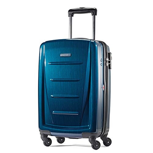 Samsonite Winfield 2 Hardside Luggage with Spinner Wheels, Deep Blue, Carry-On 20-Inch