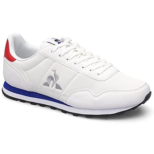 Le Coq Sportif Astra, Zapatillas Deportivas Hombre, Optical White, 41 EU
