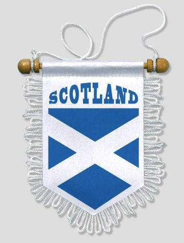 KOO Interactive - Schottland Scotland - 13 x 15 cm - Auto Wand Fahne Flagge Wimpel